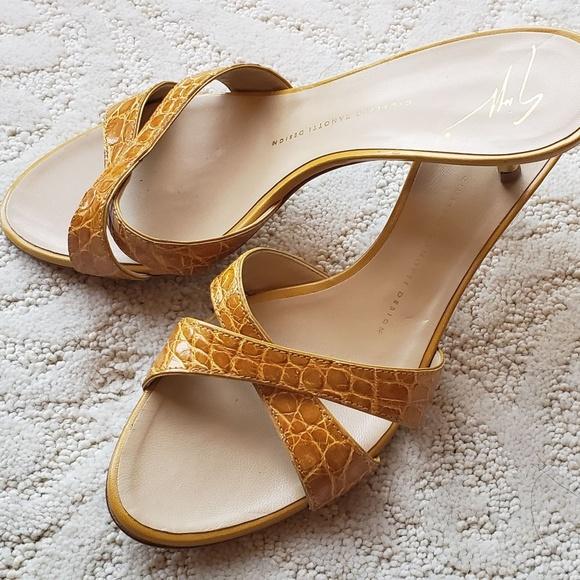 0c8c7ec84734c Giuseppe Zanotti Shoes | Casual Kitten Heel Sandals | Poshmark
